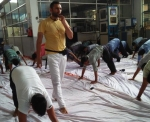 Yoga International Day at SABO HEMA