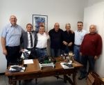The MEI delegation visit the Roberto Nuti Group