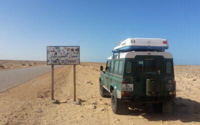 Con gli ammortizzatori SABO nel Sahara Occidentale