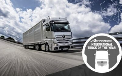 Mercedes-Benz's new Actros wins the International Truck of the Year