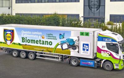 Iveco, Lidl ed Edison: primi mezzi a biometano
