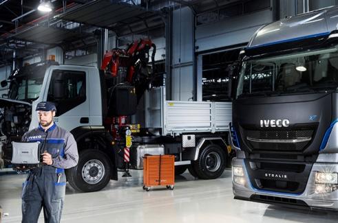 Al via l'Iveco Service Challenge