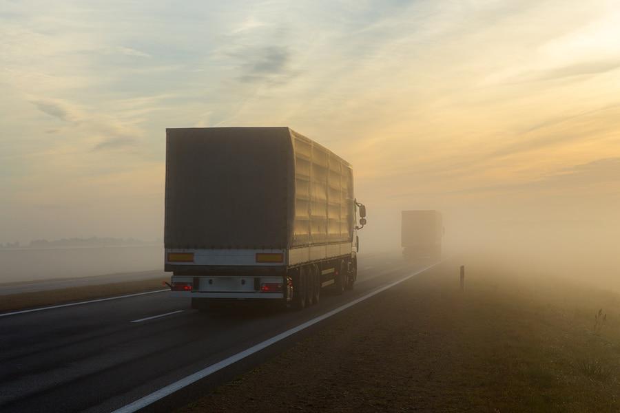 Tangenziale esterna di Milano a prova di nebbia per gli autotrasportatori!