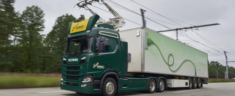 brebemi autostrada Scania
