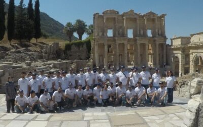 SABO Suspension System visits the Library of Celsus