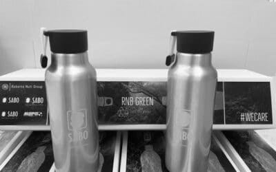 Environmental sustainability: SABO green water bottles