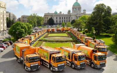 DAF Trucks delivers 44 city sanitation vehicles to Belgrade
