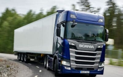 Scania's fourth consecutive Green Truck test victory