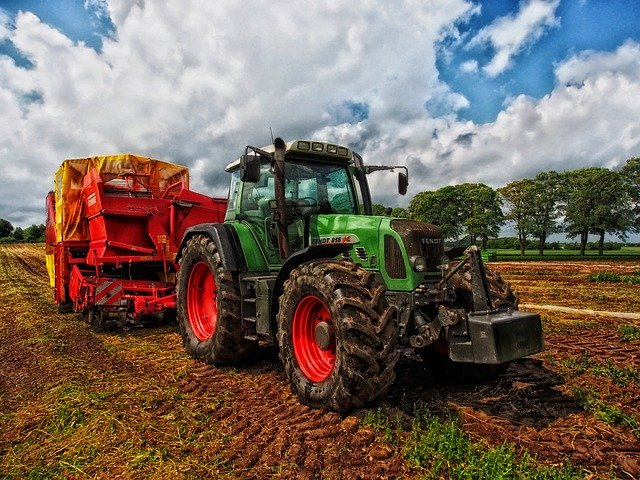 SABO Shock Absorbers - Applications in agriculture