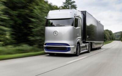 Mercedes-Benz eActros and Mercedes-Benz GenH2 Truck win 2021 Truck Innovation Award