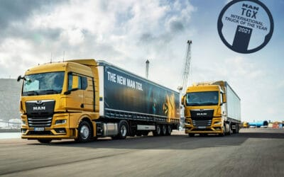 E' il MAN TGX l'International Truck of the year 2021