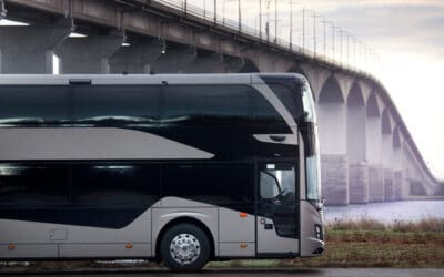 Volvo buses launches an all new 4-metre-high double decker for Europe