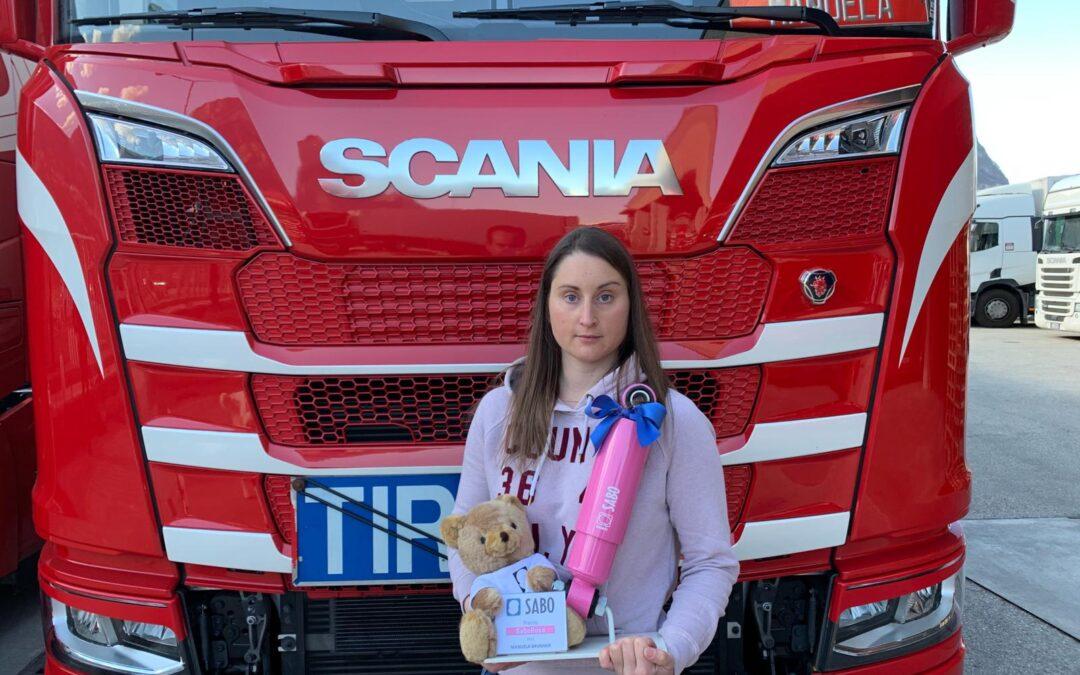 Sabo Rosa, Manuela Brunner elected Truck Driver of the Year 2021
