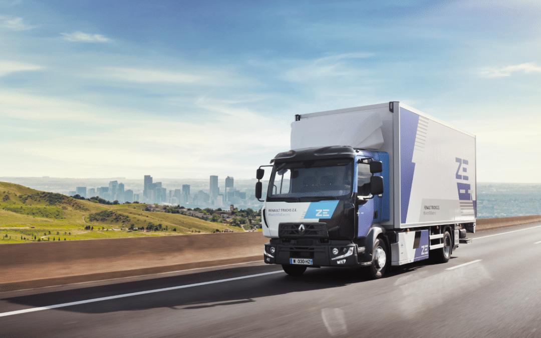 Renault trucks to offer an electric range for each market segment