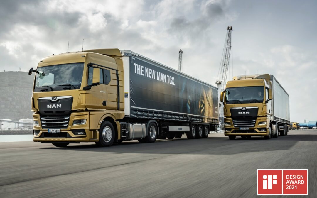 Two in one stroke: New MAN Truck Generation wins two iF DESIGN AWARDS
