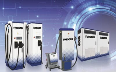 DAF introduces charging stations for electric vehicles