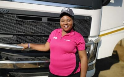 Volvo Trucks is accelerating women in transport