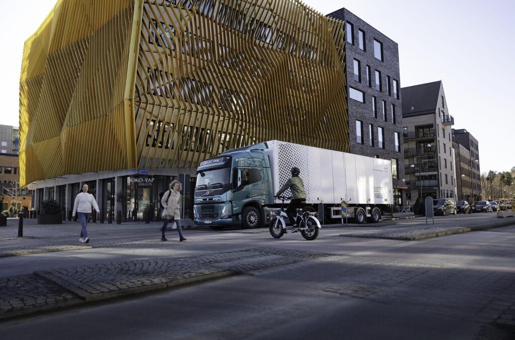 Suoni unici sui camion elettrici Volvo